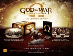 Foto God of War Ascession Collectors Edition PS3