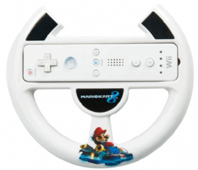 Foto Racing Wheel Wii U (Volante Mario Kart 8)