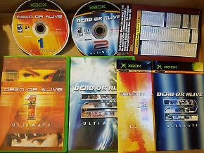 Foto Dead or Alive Ultimate Double Disc Collectors Pack XBOX (Seminovo)