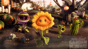 Foto Plants vs Zombies Garden Warfare (Seminovo) PS4