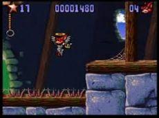Foto Aero Acrobat Super Nintendo - Seminovo
