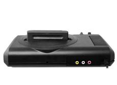 Foto Console Tectoy Sega Mega Drive Com 22 Jogos na Memória TecToy