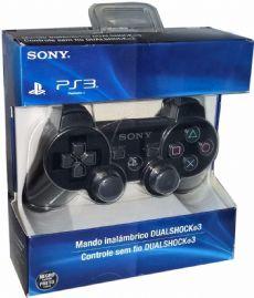 Foto Controle Dual Shock 3 PS3 - Preto - Paralelo