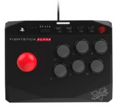 Foto Controle Fightstick Alpha Arcade Street Fighter V Ps4 Ps3 - Seminovo