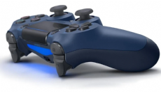 Foto Controle Sony Playstation 4 - Dual Shock 4 - Midnight Blue - Seminovo