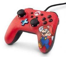 Foto Controle Wired Powera Nintendo Switch Edição Super Mario - Com Fio