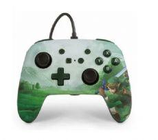 Foto Controle Wired Powera Nintendo Switch Edição Zelda Link - Com Fio