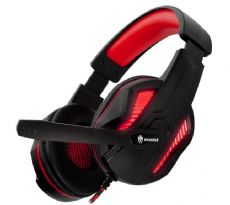 Foto Headset Gamer Evolut Eg-305 Vermelho Thoth Notebook / PC / PS4 / PS5 / Xbox One / Xbox Series S/X
