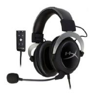 Foto Headset Gamer Hyperx Cloud II PS4 PS4 PRO PS5 XBOX ONE PC e Mobile