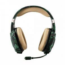 Foto Headset Gamer Trust Carus Jungle Camo Xbox One - Mobile - Pc - Ps4 - Wii U -Switch