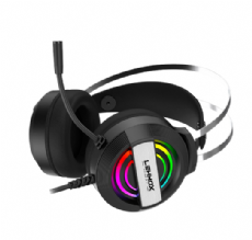 Foto Headset Games Led RGB Lehmox Hyper GT F5 Notebook / PC / PS4 / PS5 / Xbox One / Xbox Series S/X