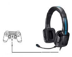 Foto Headset Tritton Kama Preto Xbox One - Mobile - Pc - Ps4 - WiiU