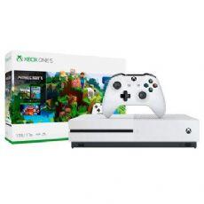 Foto Microsoft XBOX ONE S 1TB Bundle Minecraft + 03 Anos de Garantia ZG!