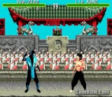 Foto Mortal Kombat Mega Drive - Seminovo