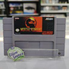 Foto Mortal Kombat Super Nintendo - Seminovo