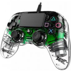 Foto Nacon Transparente Wired Verde Led Playstation 4