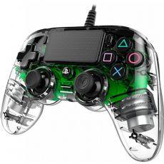 Foto Nacon Transparente Wired Verde Led Playstation 4