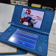 Foto Nintendo DSi XL Azul Na Caixa - Seminovo