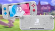 Foto Nintendo Switch Lite - Edição Pokemon Sword e Shield