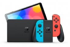 Foto Nintendo Switch Oled Neon and Blue + 03 Anos de Garantia ZG! - Pré-Venda Outubro de 2021