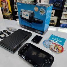 Foto Nintendo Wii U Deluxe Set 32GB + 02 Jogos + Garantia + Destravado - Seminovo