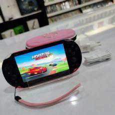 Foto PlayStation Vita SLIM Pink and Black + 16GB + Frete Grátis + Garantia ZG!  Destravado - Seminovo
