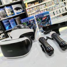 Foto PlayStation VR V2 + Jogos + Controles + Frete Grátis - Seminovo