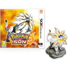 Foto Pokemon Sun 3DS + Figura Solgaleo - Seminovo
