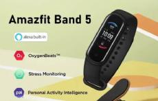 Foto Relógio Smartwatch Xiaomi Amazfit Band 5 Xiaomi Alexa Oxímetro Original