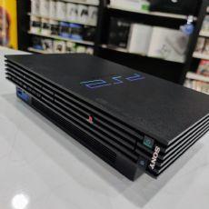 Foto Sony Playstation 2 Fat Destravado - Seminovo