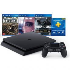 Foto Sony Playstation 4 Slim 1TB Bundle HITS 6 + 03 Anos de Garantia ZG!