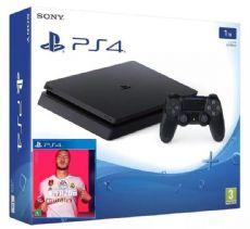 Foto Sony Playstation 4 Slim 1TB + FIFA 20 + 03 Anos de Garantia ZG!