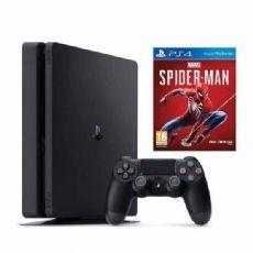 Foto Sony Playstation 4 Slim 1TB + Spider Man + 3 Anos de Garantia POUCAS UNIDADES