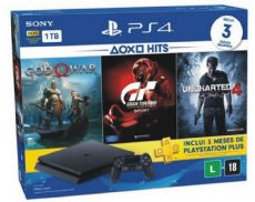 Foto Sony Playstation 4 Slim Bundle 1TB HITS 4 + 3 Anos de Garantia ZG! ULTIMAS UNIDADES