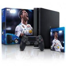 Foto Sony Playstation 4 Slim Bundle FIFA 18  + 3 Anos de Garantia POUCAS UNIDADES