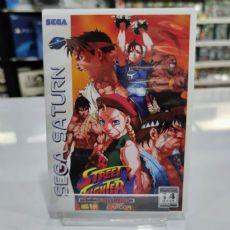 Foto Street Fighter Collection Sega Saturn - Seminovo