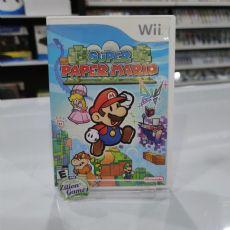 Foto Super Paper Mario Nintendo Wii - Seminovo
