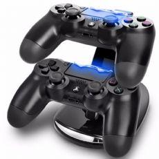 Foto Suporte Carregador Controle Duplo Dualshock Joystick Ps4
