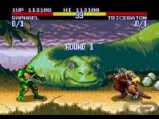 Foto Teenage Mutant Ninja Turtles Tournament Fighters Mega Drive - Seminovo