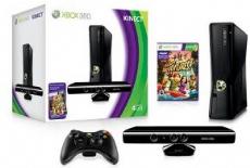 Foto XBOX 360 Slim 4GB + Kinect + Garantia ZG! - Seminovo